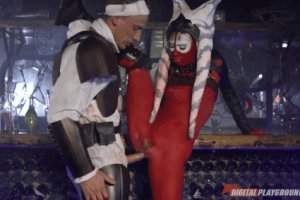 2 Cosplay fantasy with standing sex