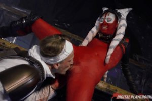 3 Cosplay oral pleasure in the club